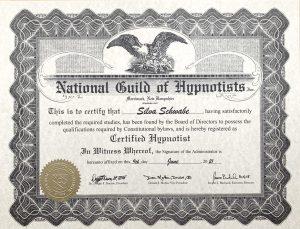 Certified Hypnotist Silva Schwabe